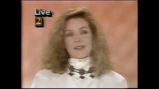 WSB-TV Interview With Priscilla Presley - July 28, 1986