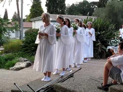 2009 Rosh Hashanah Ceremony at Kibbutz Geva, Israel