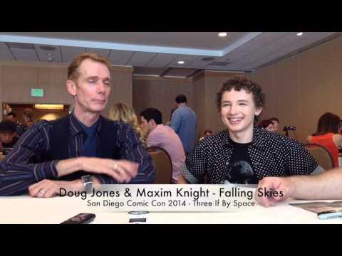 Comic Con 2014 Falling Skies   Doug Jones & Maxim Knight Part 1