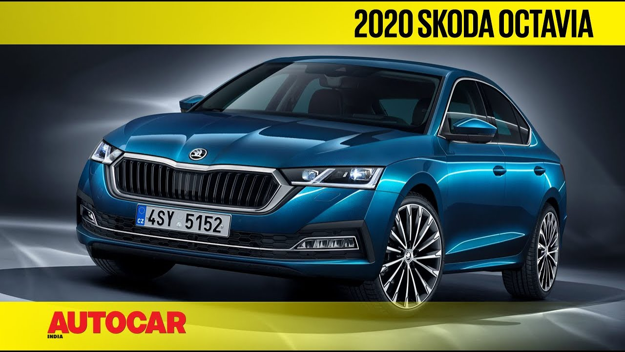 2020 Skoda Octavia First Look Autocar India Youtube