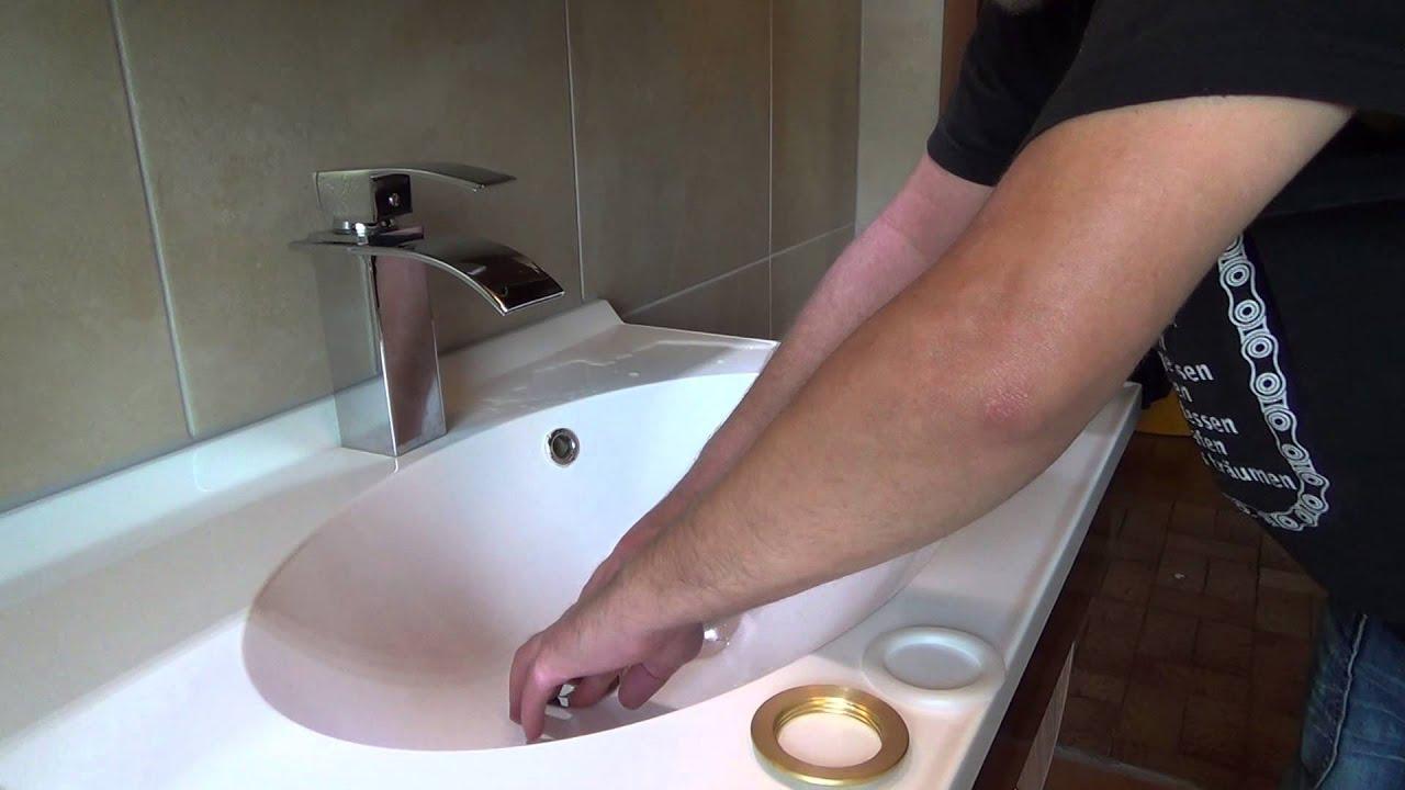 Stopsel Im Waschbecken Tauschen Push Open Waschbecken Garnitur
