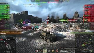World of Tanks: 6 фрагов с 9 лвл, бомбящий об.704