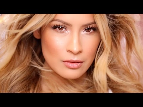 Victoria's Secret 2014 Hair & Makeup tutorial- Desi Perkins