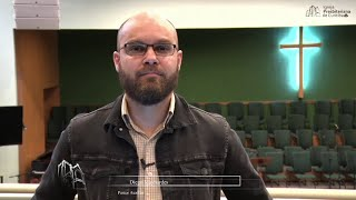 CREIA NO DEUS QUE É O AUTOR DA VIDA - Rev. Diego Maynardes - Diário - Mateus 6:25-34 - 19/10/2021