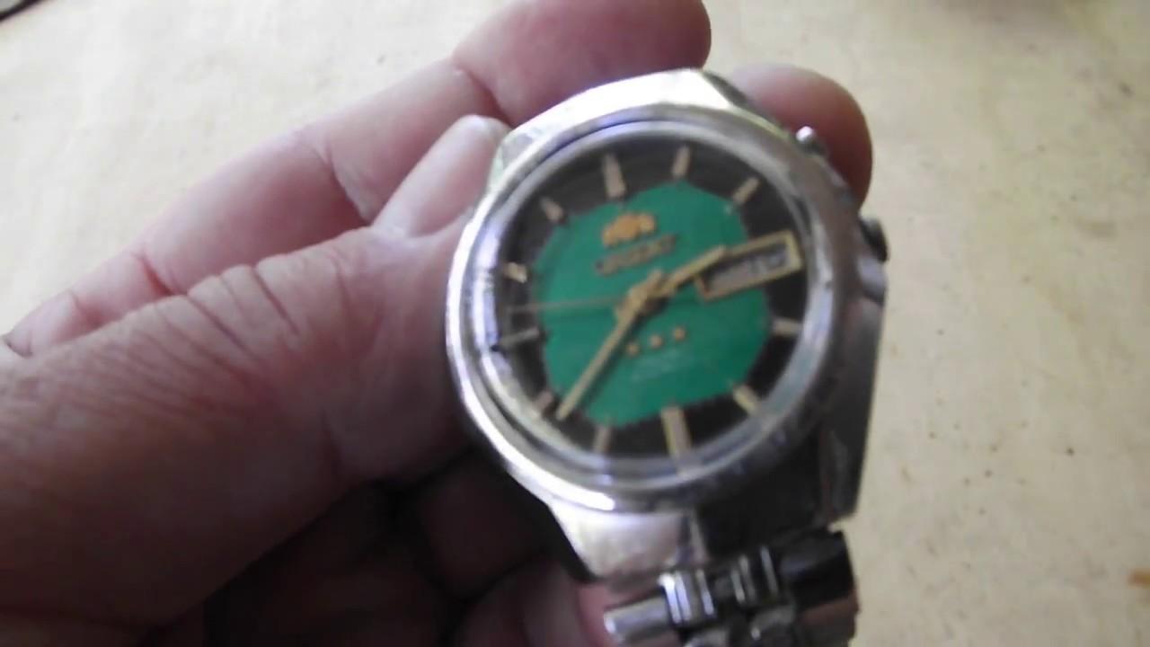 5b60159d948 Relógio Orient antigo no Mercado Livre - YouTube