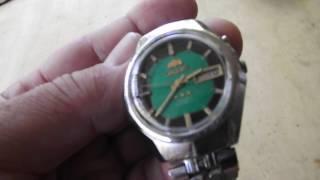 8dfe5b0265d Relógio Orient antigo no Mercado Livre