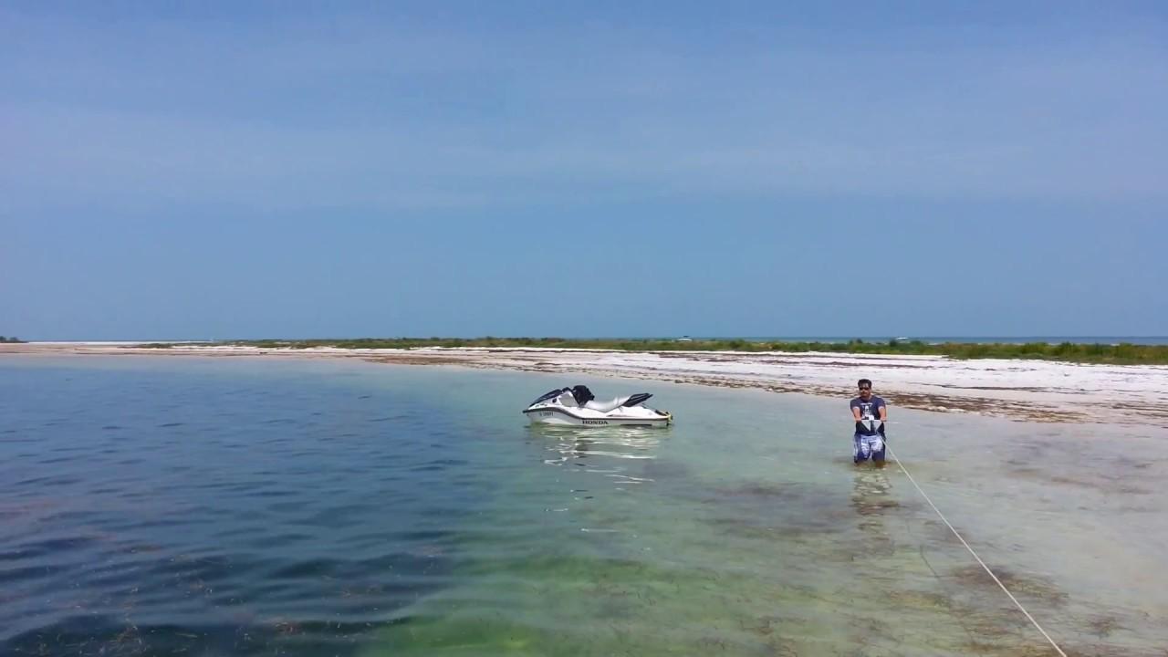 Sand Beaches New Port Richey Fl Sandbars Located Just 2