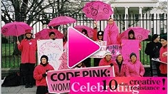 Hot Pink Ladies in Action: 10 Year Anniversary of CODEPINK Creativity