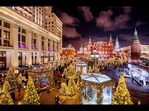 WELCOME: Moscow Is Among World's Five Top Destination for Christmas Vacation