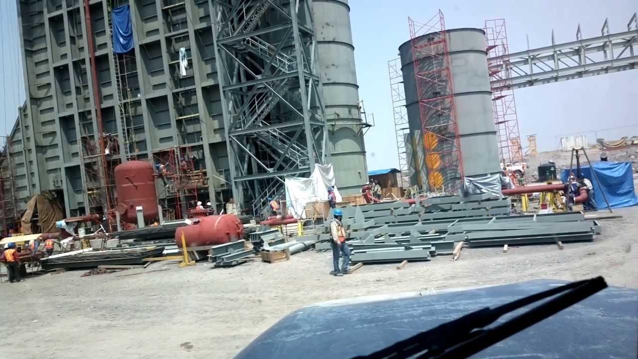 la planta termoeléctrica La Huexca en Morelos