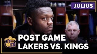 Julius Randle Talks Zach Randolph, Loves Playing With Brook Lopez