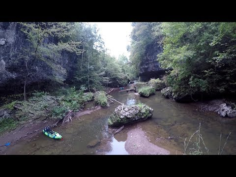 Rocky Fork Creek Hillsboro OH Fishing/camping Trip (crazy Cool Scenery)