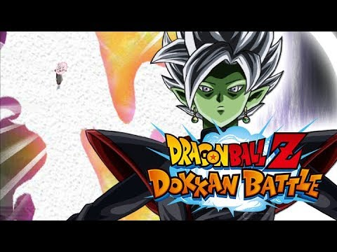 dokkan battle fanmade lr fusion zamasu youtube