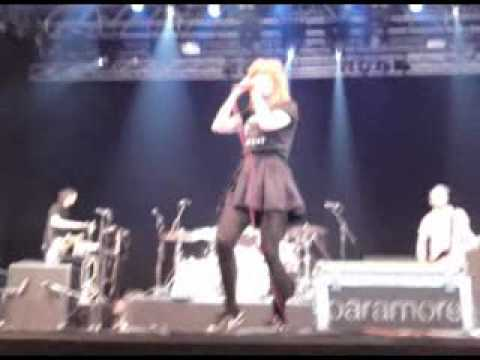 Paramore Live at Open Air St Gallen 2010