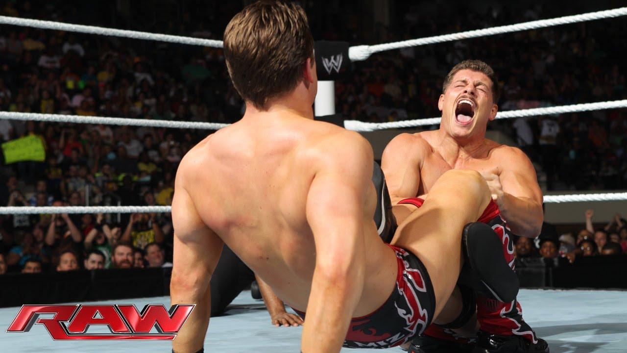 Raw The Miz vs Cody Rhodes: Raw June 10 2013 YouTube