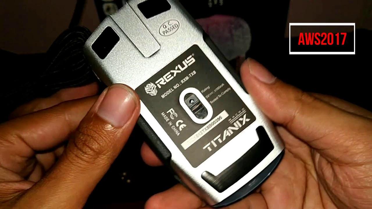 Rexus Gaming Mouse Tx8 Rgb Macro 6d Referensi Daftar Harga Terbaru Titanix Tx7 Unboxing