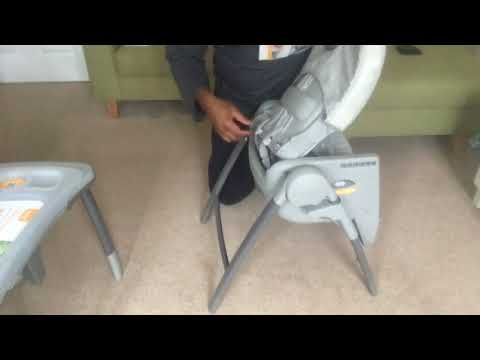 Setting up Joie Multiply high chair: Joie Multiply 6in1 highchair Assembly