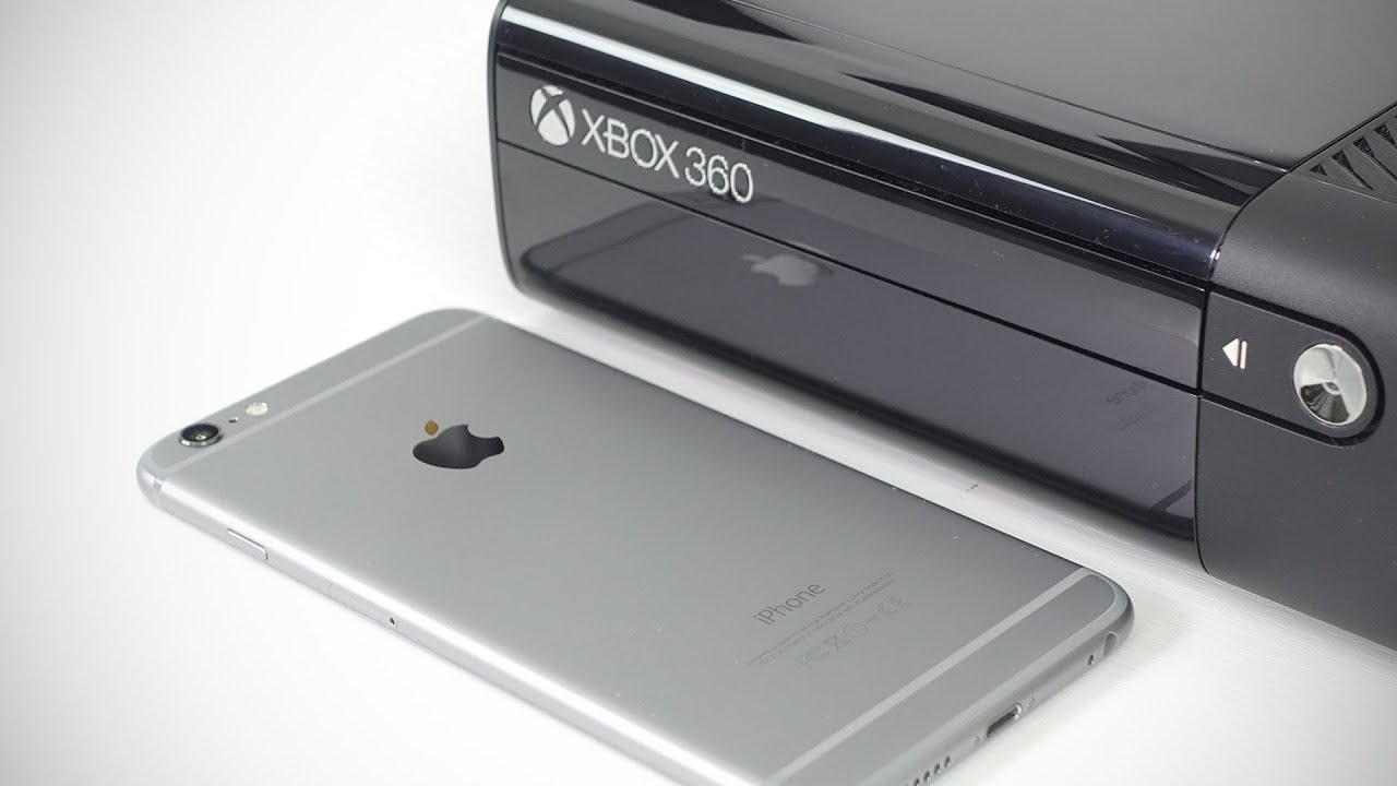 can an iphone match the xbox 360 youtube. Black Bedroom Furniture Sets. Home Design Ideas