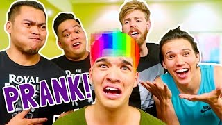 THEY RUINED MY HAIR... (PRANK)