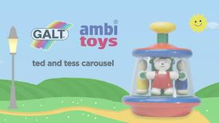 Ambi Toys in Motion - Ted and Tess Carousel