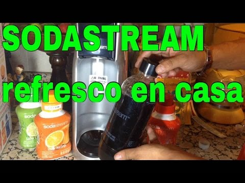REVIEW SODASTREAM * COMO HACER REFRESCO EN CASA*. coca-cola
