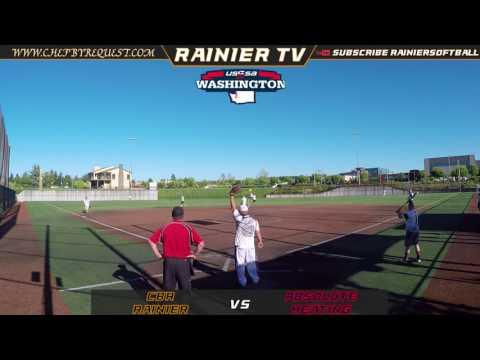 USSSA Border Battles 2017: CBR/Rainier vs Absolute Heating