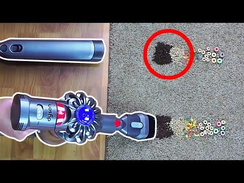 300226bd4bc Shark Ion W1 vs Dyson V7 Trigger - Cordless Handheld Vacuum Battle!