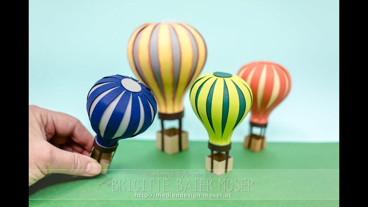 11 Atemberaubend Heissluftballon Basteln 10