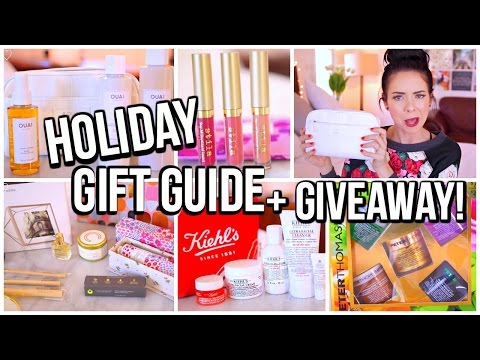 HOLIDAY GIFT GUIDE & HUGE GIVEAWAY!