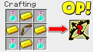 CRAFTING THE MOST OVERPOWERED BOW! (Minecraft MURDER MYSTERY)
