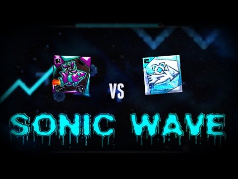 [Multiplayer #6] RIOT vs CYCLIC: Sonic Wave - Geometry Dash