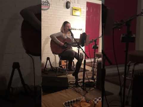 Kendale Walker singing Hallelujah for Houston Rodeo Rock Star 2019 Auditions