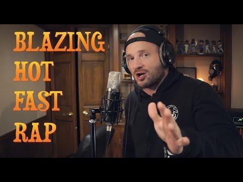 Blazing Hot FAST RAP (Mumble Rap/Jake Paul diss)