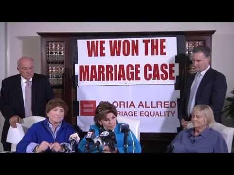 Gloria Allred's Press Conference on Supreme Court Ruling on Sam Sex Marriage