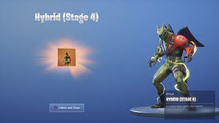 *UNLOCKING* 'ELECTRIC' Hybrid/Ninja Skin FINAL MAX STAGE Dragon After Fortnite Victory Royale
