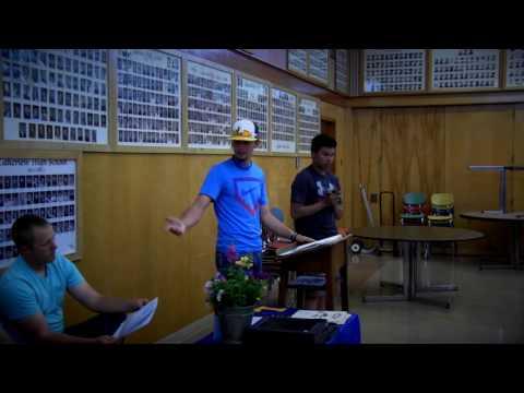 LHS baseball post-season banquet 5-31-2016