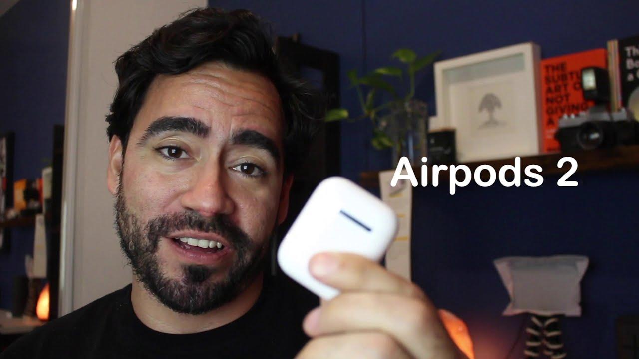 Finalmente decidí tener los Airpods 2