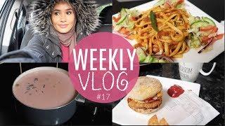 Weekly Vlog: PINK TEA ANYONE? PASTA RECIPE& NO MORE TAKE AWAYS?! | Zeinah Nur