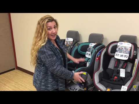 2019 Chicco NextFit Convertible Carseat Lineup