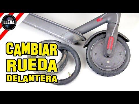COMO CAMBIAR LAS RUEDAS AL XIAOMI MIJIA M365 A RUEDAS MACIZAS - Rueda Delantera