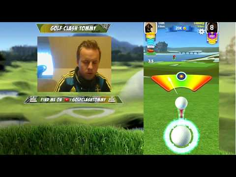 Golf Clash stream, Trying out the new courses on T5 and T10