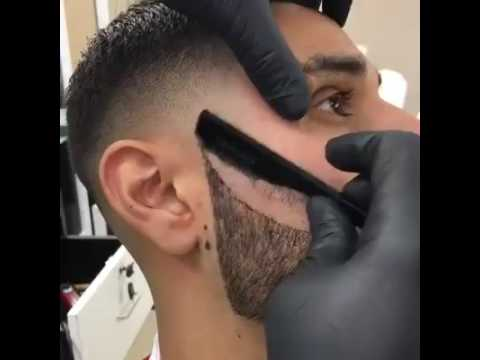 Best Shaving Technique With Beard Hairstyle Youtube