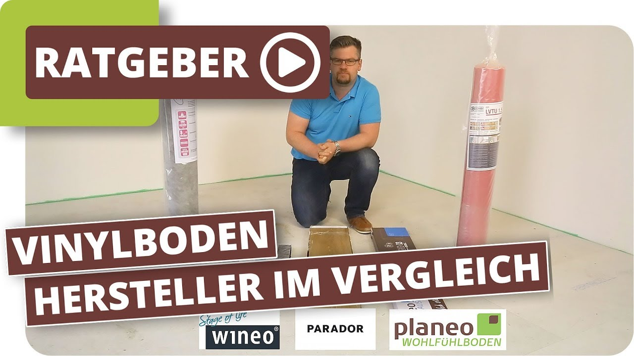vinylboden hersteller im vergleich youtube. Black Bedroom Furniture Sets. Home Design Ideas