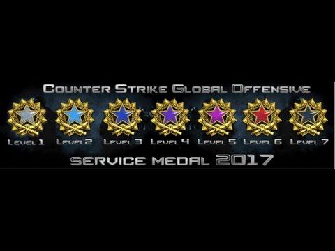 CSGO 2017 Service Medal - Hizmet Madalyası