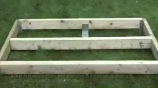 Building A Shed, How To Build A Shed Base - Shed Plans With Shed Blueprints