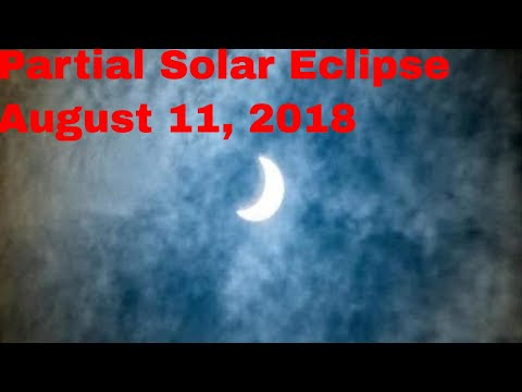 Partial Solar Eclipse August 11, 2018