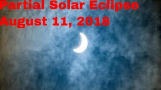 Partial Solar Eclipse August 11, 2018