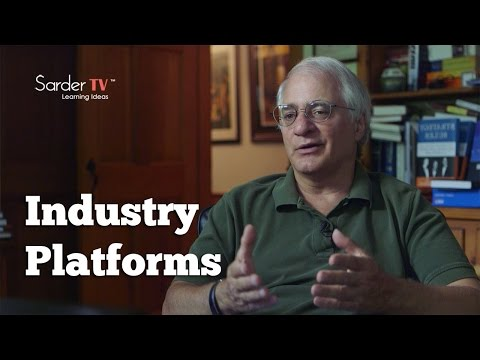 What should we understand about industry platforms? by Michael Cusumano, Author of Strategy Rules