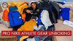 PROFESSIONAL NIKE ATHLETE GEAR UNBOXING & GIVEAWAY