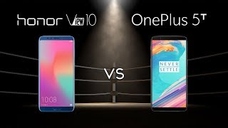 Honor View 10 vs OnePlus 5T: The WINNER Is...